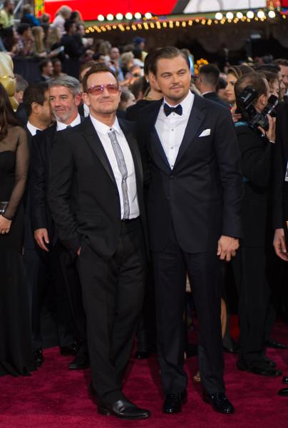 Bono and Leonardo DiCaprio1