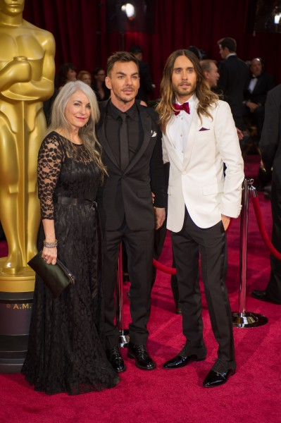 Jared Leto and Shannon Leto mom1