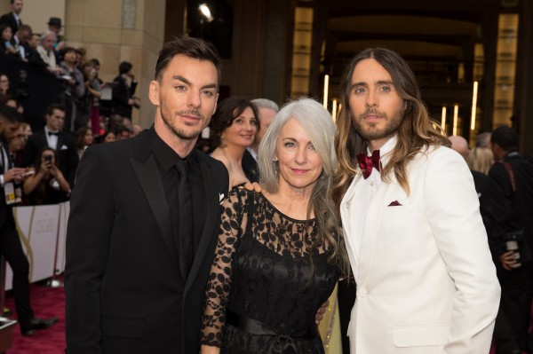 Jared Leto and Shannon Leto mom2