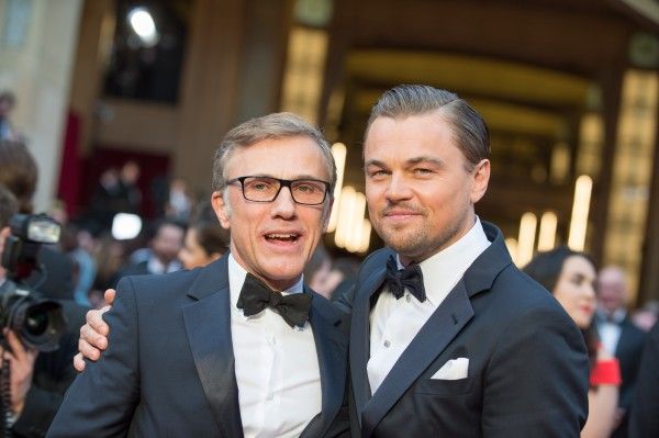 Leonardo DiCaprio and Christoph Waltz1
