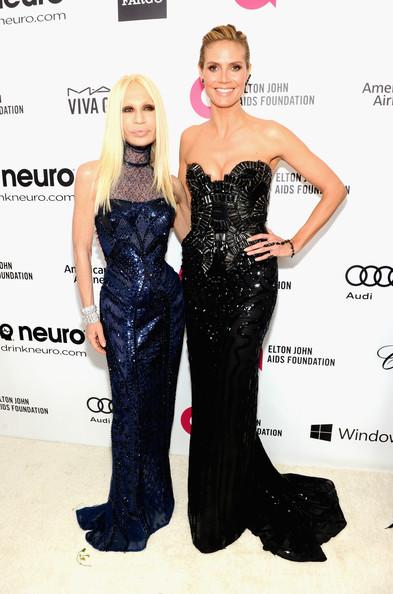 Heidi Klum, Donatella Versace1