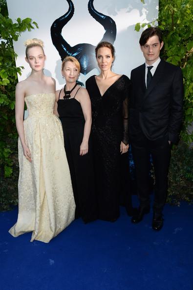 Angelina Jolie, Elle Fanning, Sam Riley, Lesley Manville2
