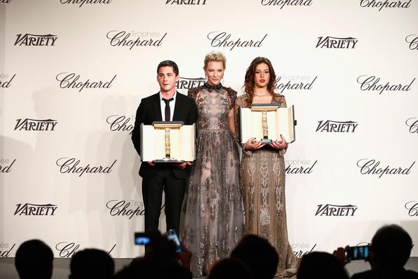 Cate Blanchett, Logan Lerman, Adele Exarchopoulos1
