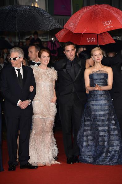 Julianne Moore, David Cronenberg, Robert Pattinson, Sarah Gadon1