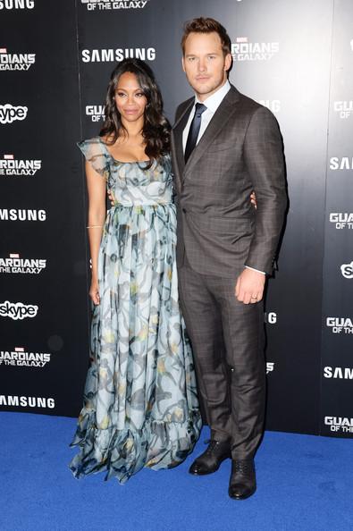 Zoe Saldana, Chris Pratt1