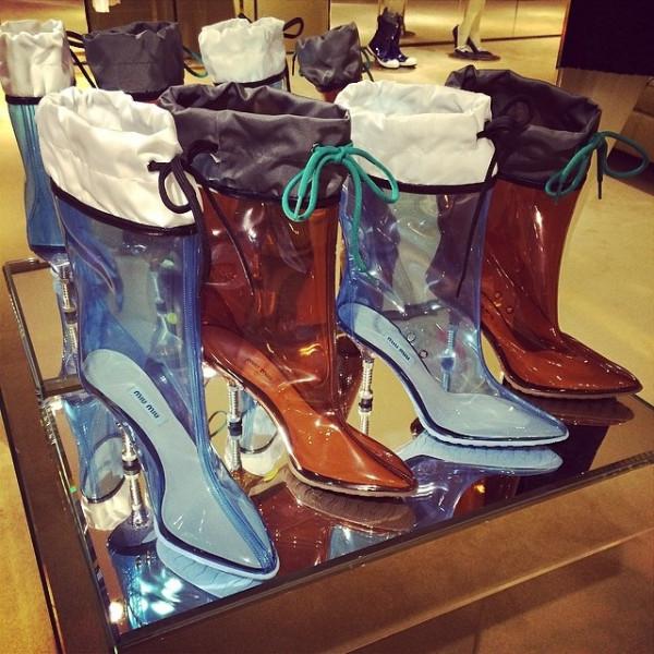 Miu Miu Boots Fall 2014