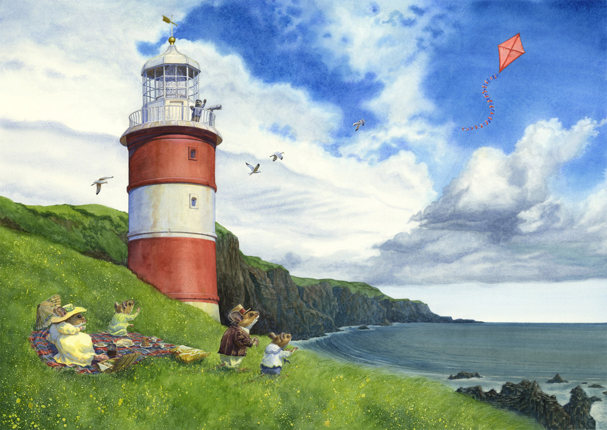 Picnic By The Lighthouse Chris Dunn