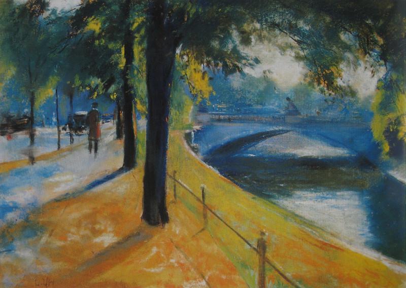 Живопись_Лессер-Ури_Мост-через-Ландвер-канал-1920