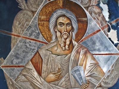 """""""Ветхий денми"""" - символическое иконографическое изображение Иисуса Христа в образе седовласого старца."""