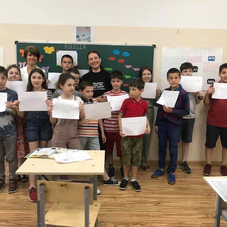 Грузины: Я из Грузии и более 20% моей страны оккупировано Россией