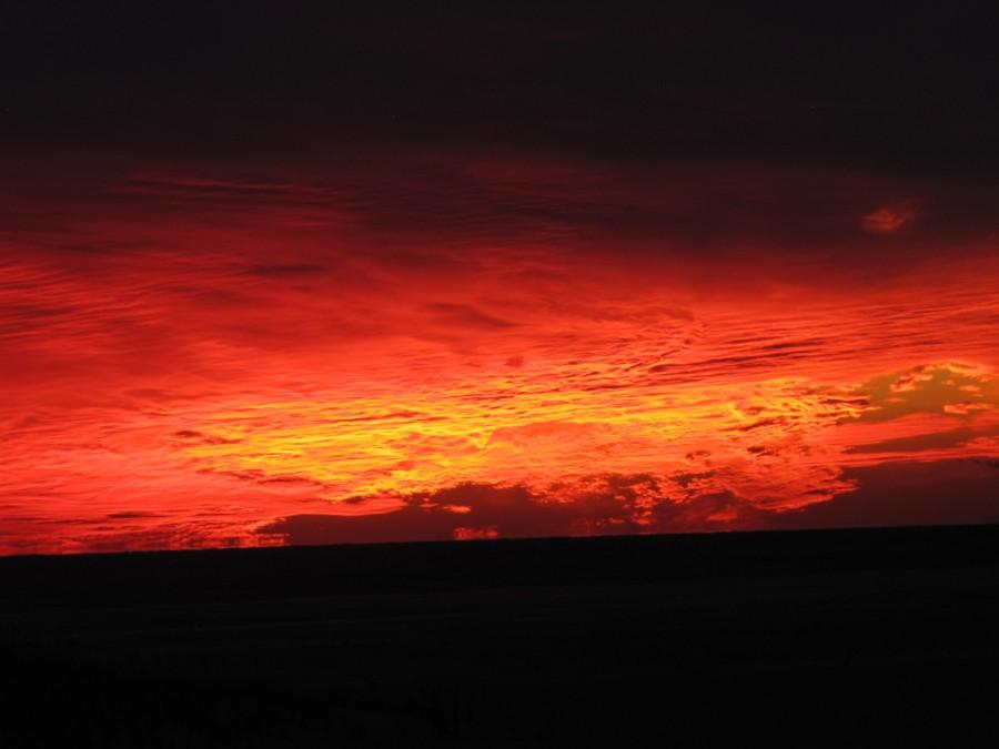 Закат 23 ноября 2013