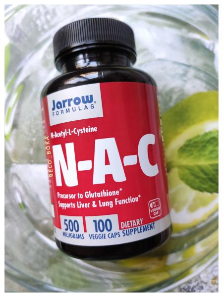 Jarrow Formulas, N-ацетил-L-цистеин