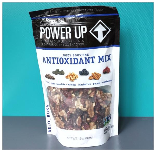 Power Up, Орехи, сушёные ягоды и кусочки шоколада
