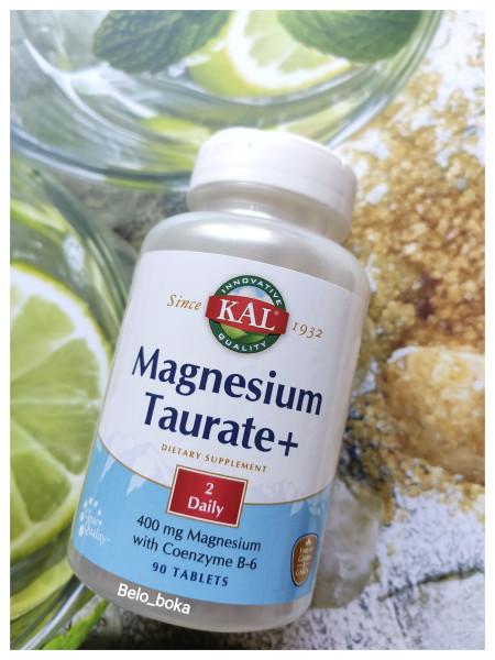 KAL, Таурат магния с витамином В6 для сердца