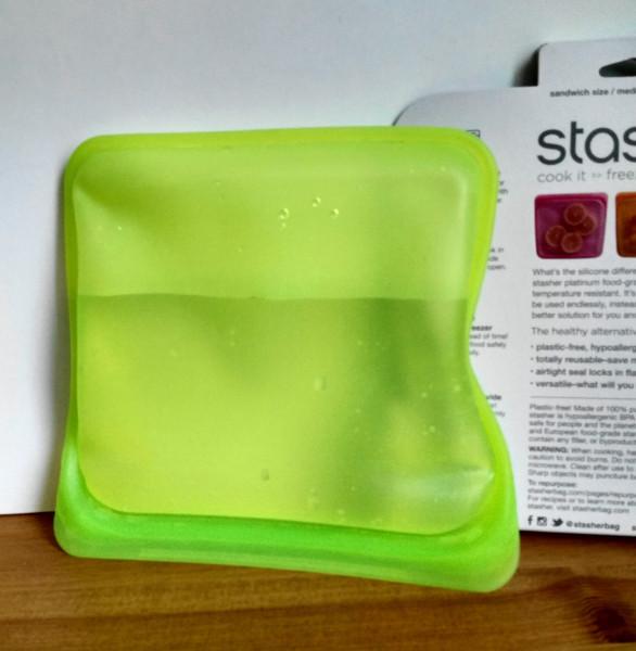 Крутая многоразовая силиконовая сумка для продуктов