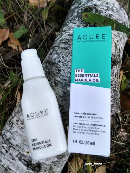 Масло марулы для лица и волос