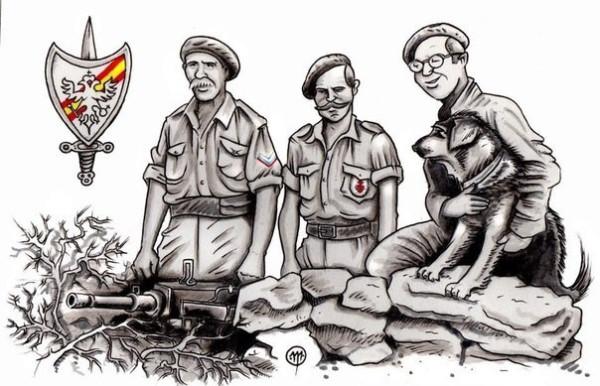 добровольцы в испании