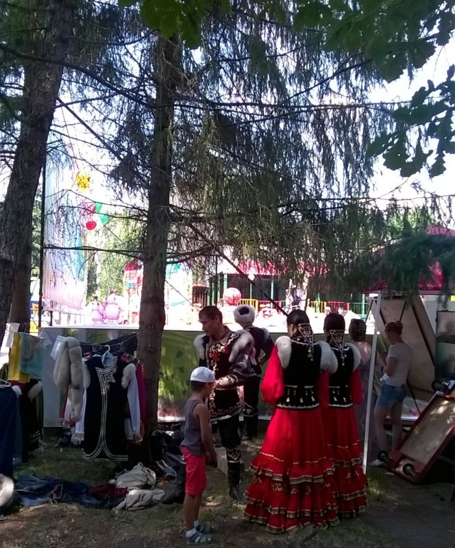 Раздевалка артистов Башкирской филармонии (24.06.2015)