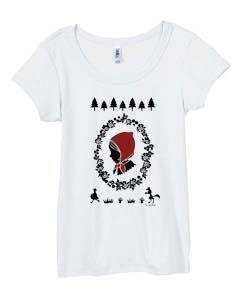 red riding hood white tshirts