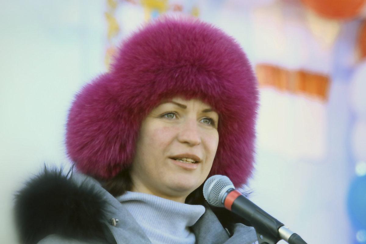 Фадина Оксана в шапке