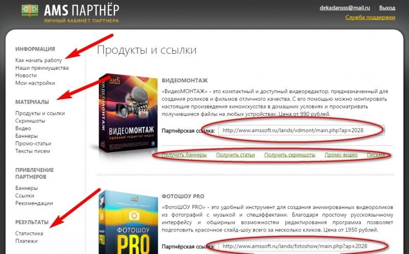 партнерская программа продажа ПО
