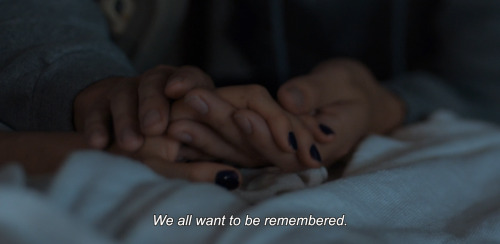 we all want to be remembered