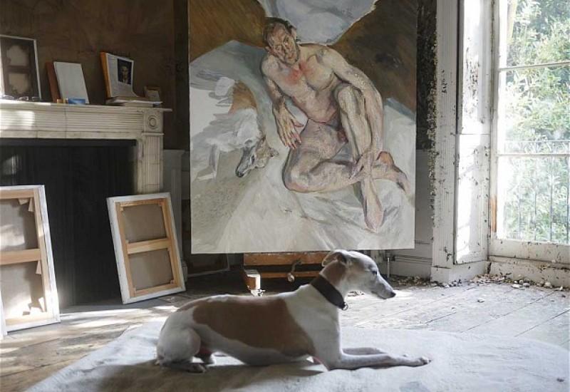 003_Portrait of the Hound, 2011