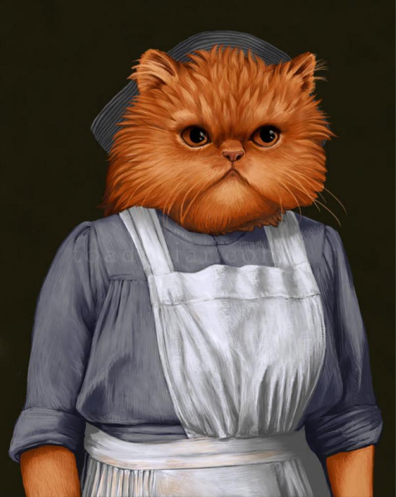 07_Миссис Патмор, кухарка
