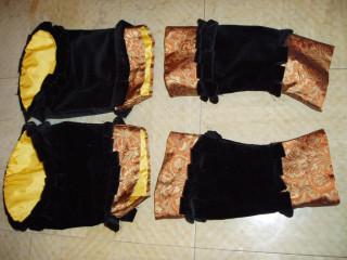 Cranach sleeves, finished