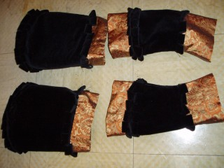 Cranach sleeves, finished, fronts