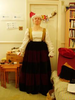 added skirt