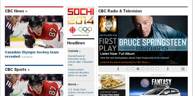cbc home page