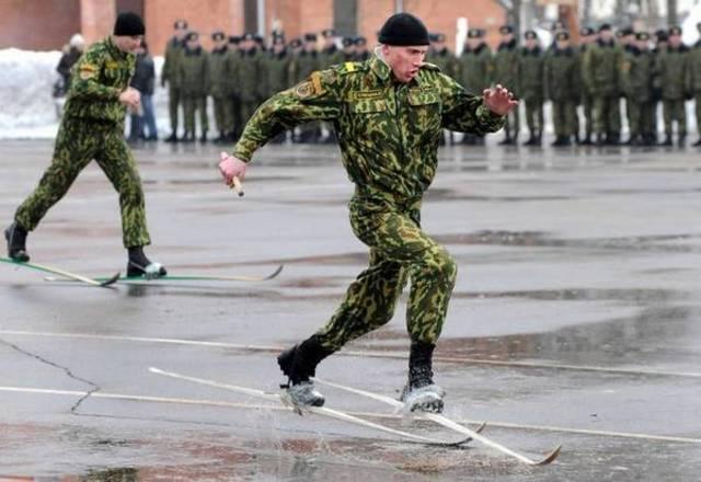 прикол. Олимпиада в армии