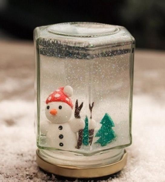 Как сделать снежный шар своими руками без глицерина