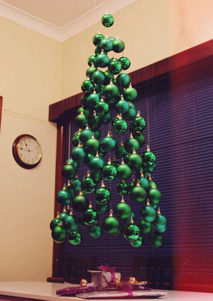 Украшения для елки своими руками шары
