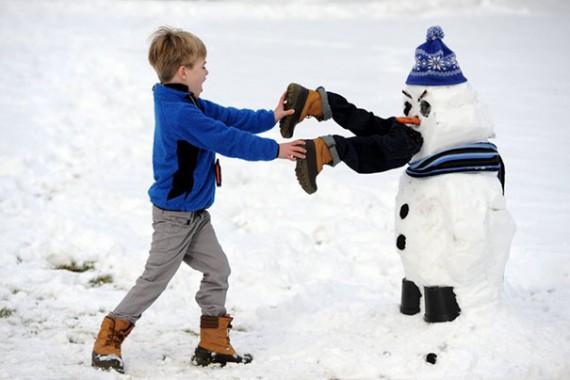 Бешеные снеговики
