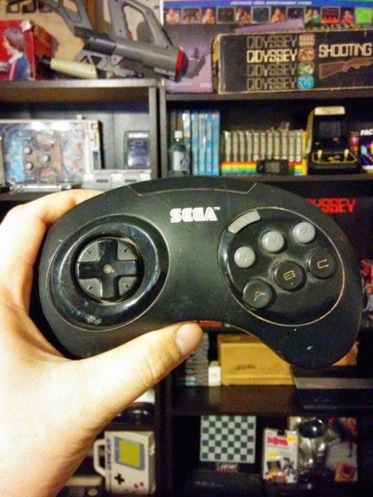 Коллекция игровых joystickov