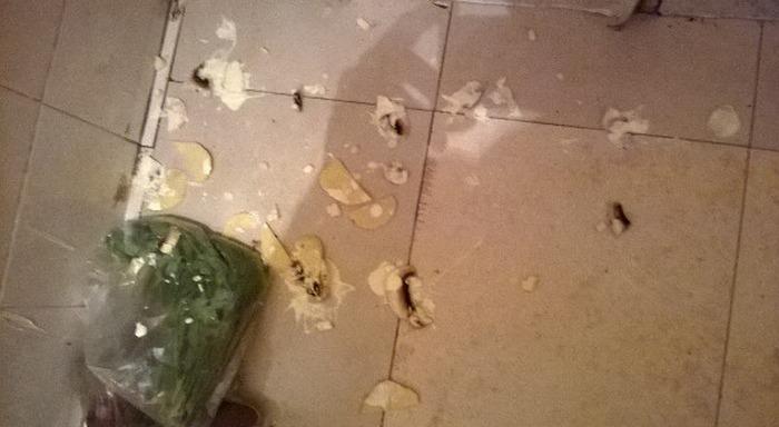Неудачный кулинарный опыт
