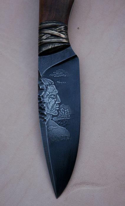 Создание уникальных ножей Маори