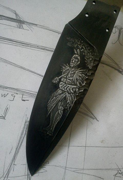 создание уникальных ножей своими руками