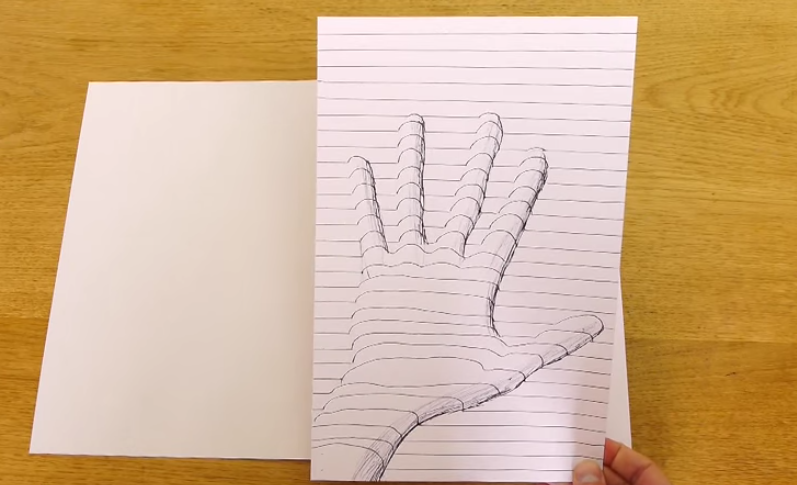 Как рисовать объемные рисунки