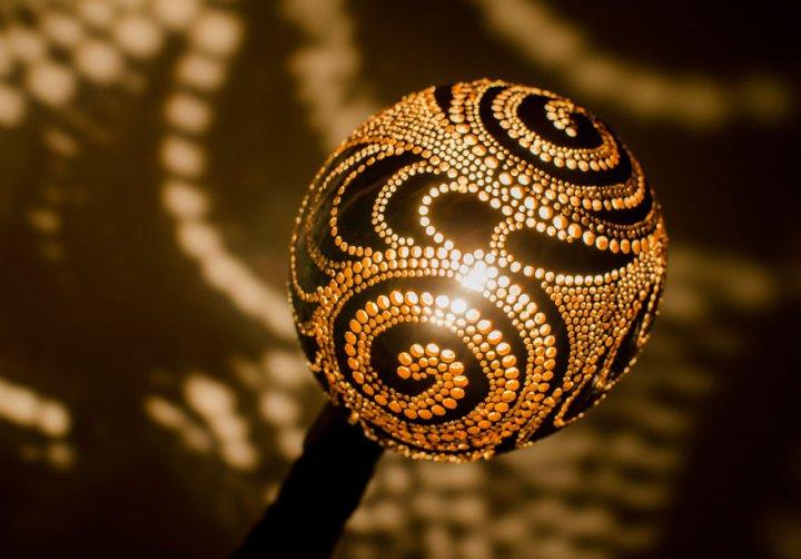 необычные ювелирные изделия из кокосов