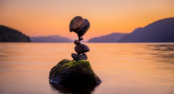 секрет баланса камней
