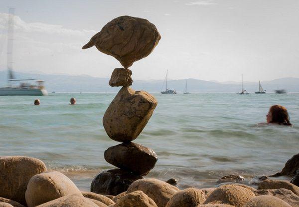 как сложить камни