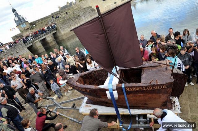 Шоколадная лодка