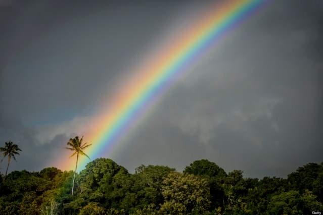 как возникает радуга