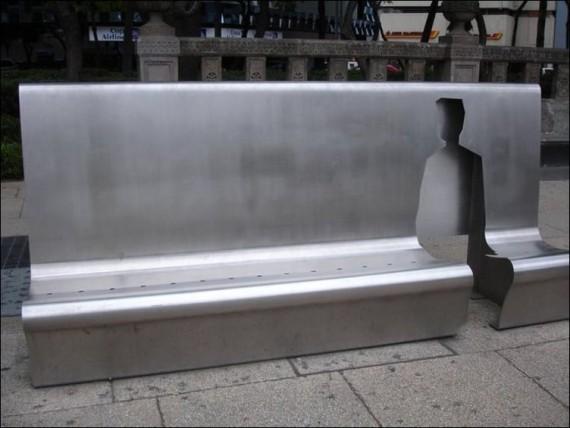 фото необычная скамейка