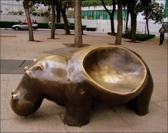 фотография необычные скамейки