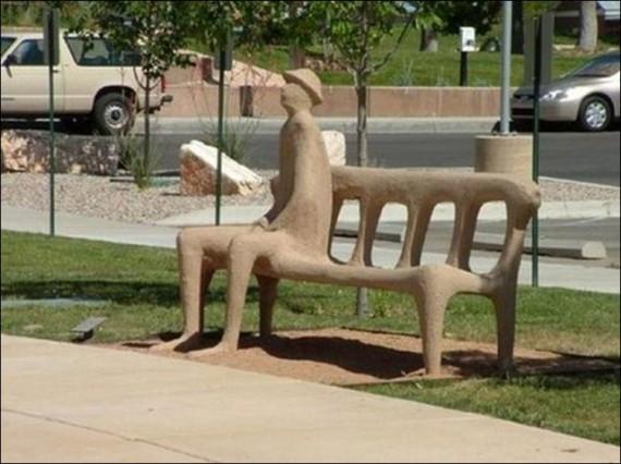 скамья для отдыха фотография