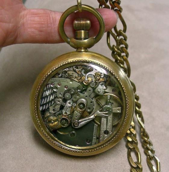 необычное применение часов